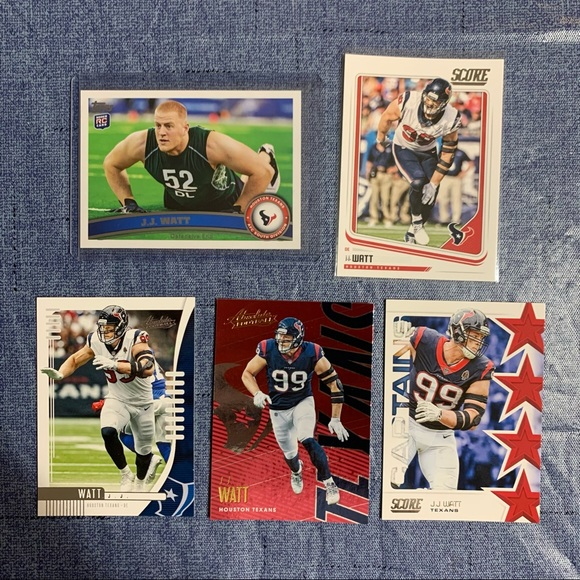JJ Watt Rookie Card Lot Houston Texans
